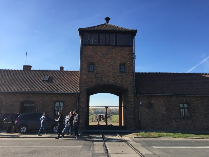 アウシュヴィッツ収容所に行ってきた