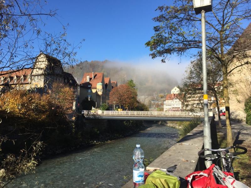 オーストリアからイタリアまでヒッチハイク