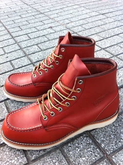 【RED WING】レッドウイング8875の経年変化