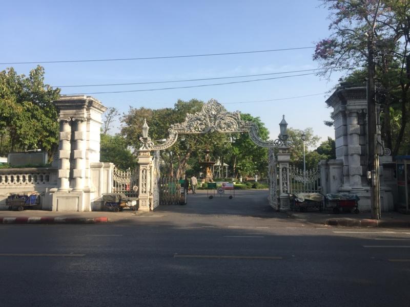 【カオサン/タイ】筋トレしたいならSaranrom Parkが最高。