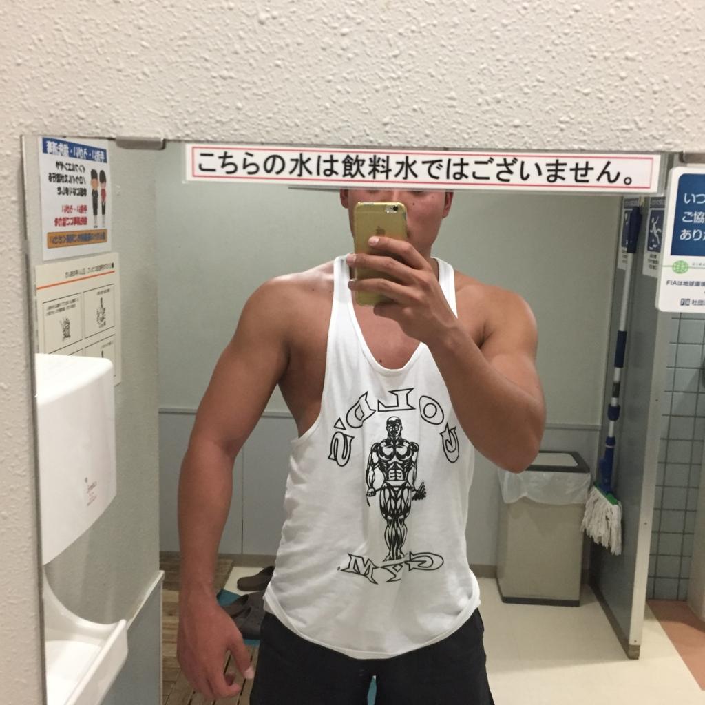 【筋トレ日記】背中、上腕二頭筋