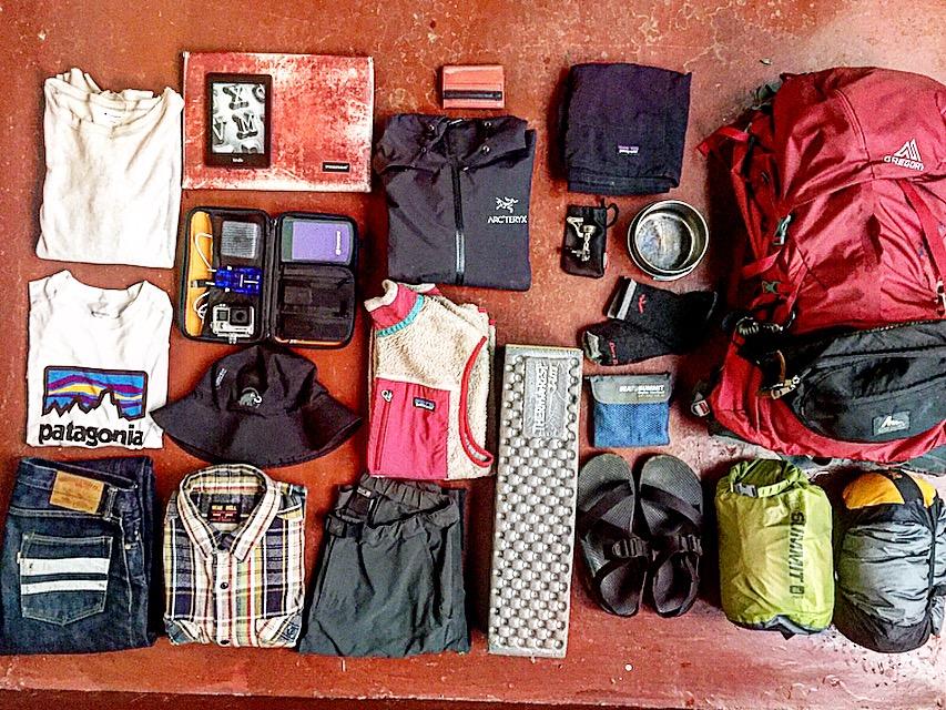 【保存版】僕が実際に世界一周バックパッカーの旅で使った持ち物50点を全て紹介!
