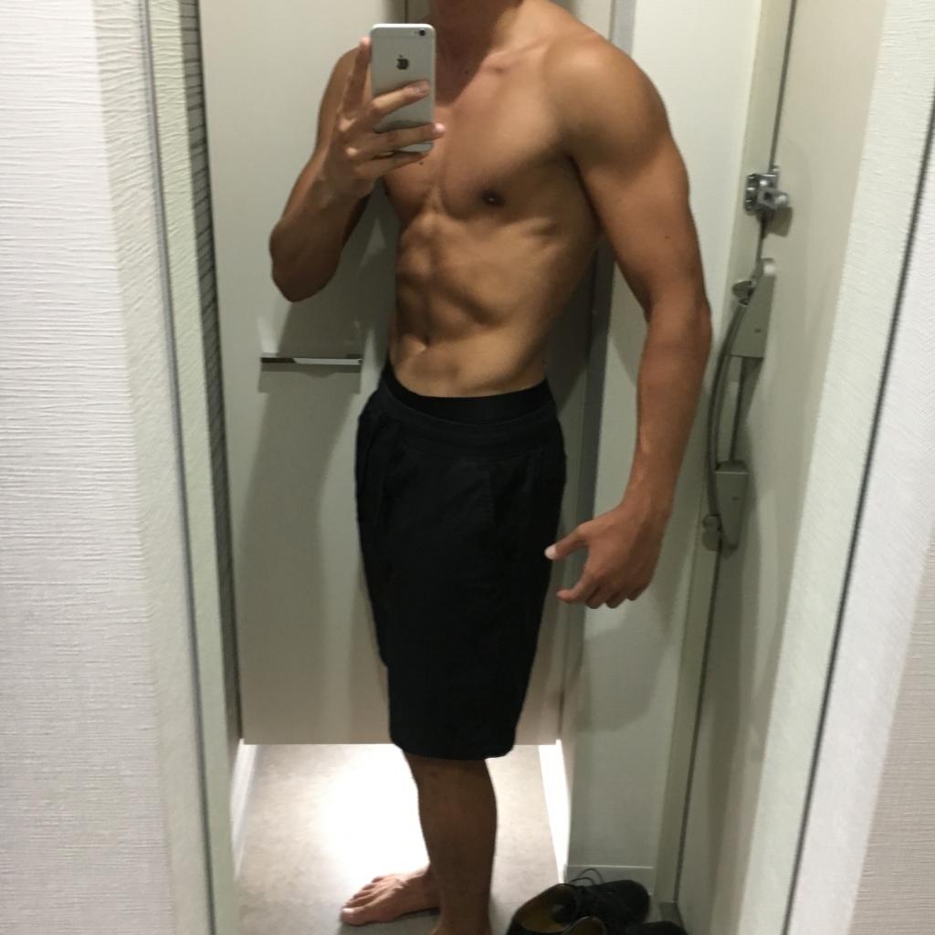 【減量12日目】体重71.7kg/体脂肪率9.1%