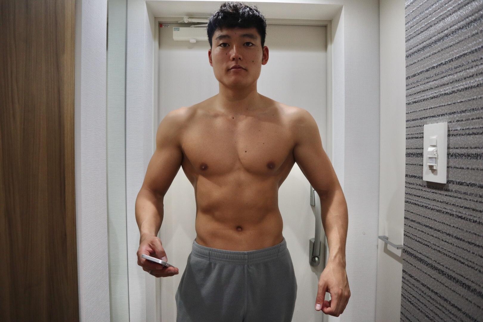 【減量1日目】3年間の身体の変化を写真5枚で振り返る